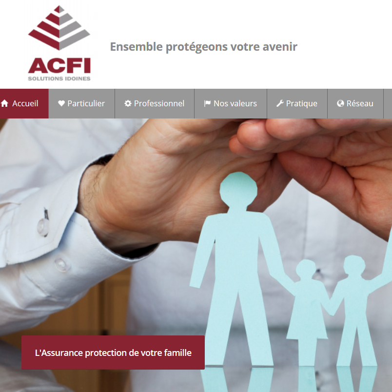 ACFI Solutions - creation site internet