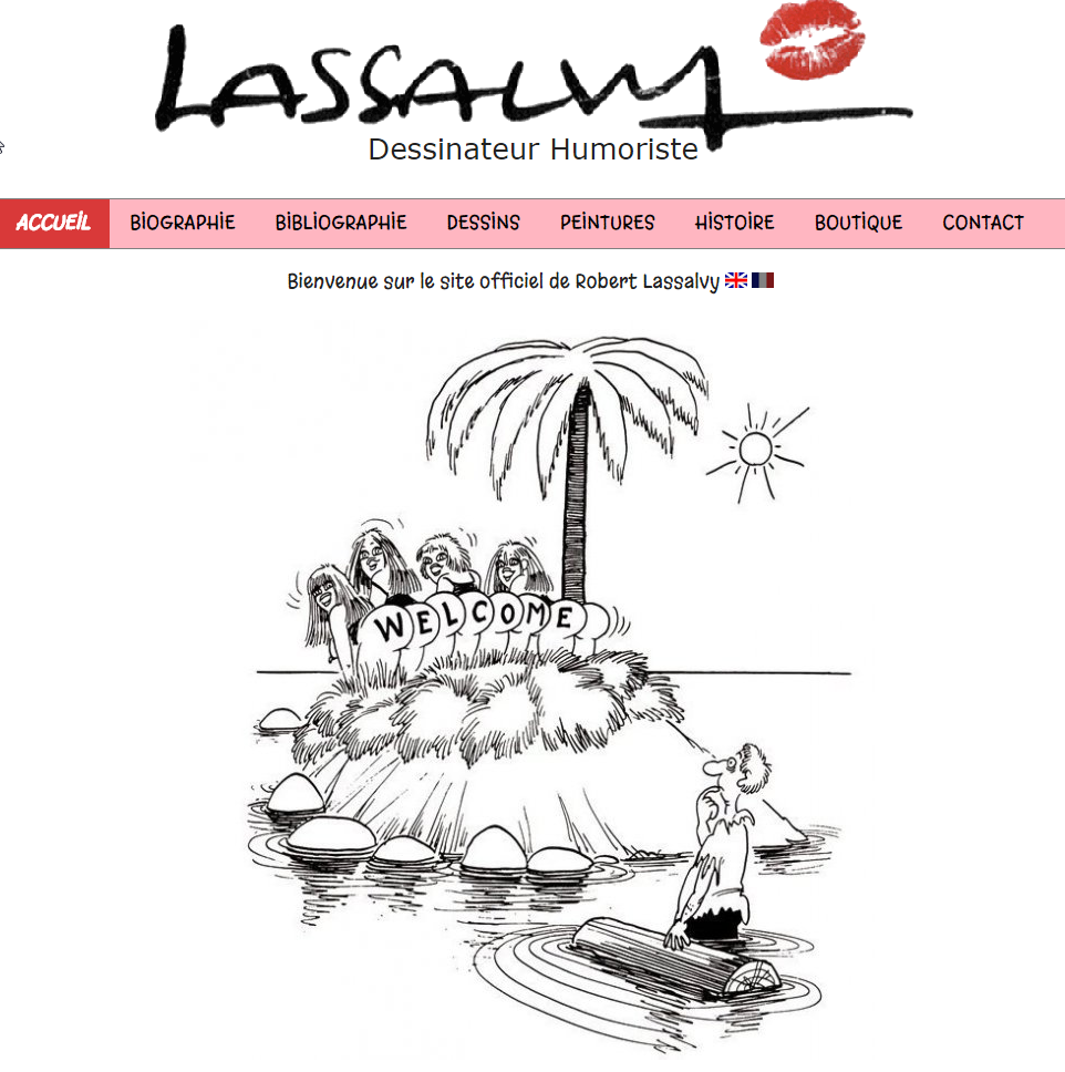 Lassalvy - creation site internet